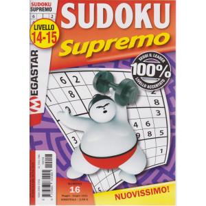 Sudoku Supremo - n. 16 - livello 14-15 - bimestrale-maggio - giugno  2021