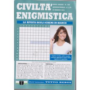 Civilta' Enigmistica - n. 440 - quindicinale -20 marzo  2021