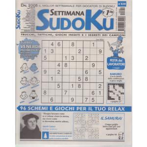 Settimana Sudoku - n. 820- settimanale -30 aprile   2021