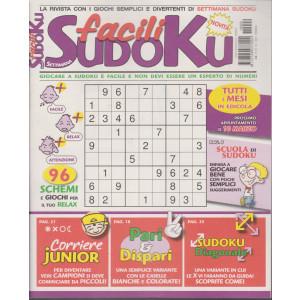 Settimana sudoku facili - n. 9 - mensile - 10/2/2021
