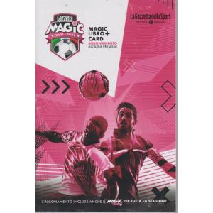 Magic campionato 20-21 - magic libro + card abbonamento all'area premium - n. 1 - mensile -