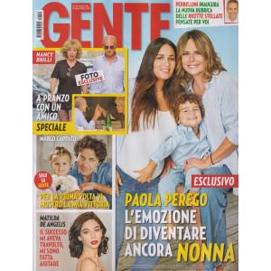 Gente - n.40 - settimanale -16/10/2021