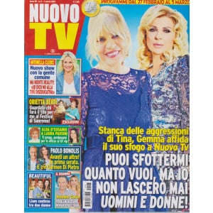 Nuovo Tv - n. 8  - 1 marzo  2021 - settimanale