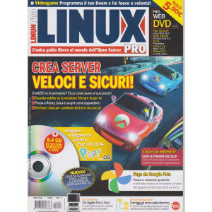 Linux Pro - n. 208 - bimestrale - agosto - settembre  2021