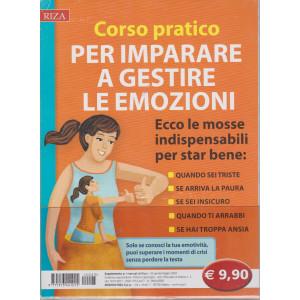 I manuali di Riza - n. 25-  -  Corso pratico per imparare a gestire le emozioni-  aprile - maggio 2021