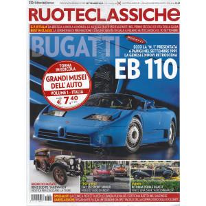 Ruoteclassiche +Musei dell'auto Grandi Italia- n. 393 - settembre 2021- mensile - 2 riviste