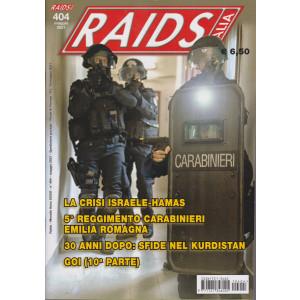 Raids - Italia - n. 404 -maggio  2021 - mensile