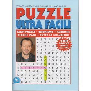 Puzzle  Ultra  Facili - n. 99 - bimestrale - aprile - maggio 2021- 100 pagine