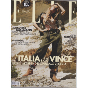 Elle  Italia- n. 33  -settembre 2021  - settimanale