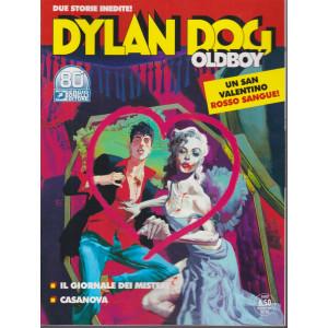 Dylan Dog Oldboy - Il giornale dei misteri - Casanova - 13 febbraio 2021- bimestrale - n. 43