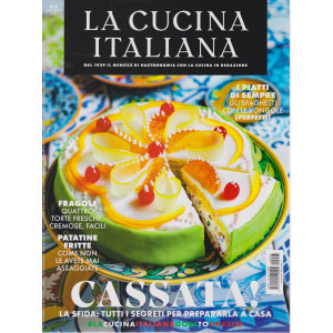 La cucina italiana - n. 5 - maggio 2021 - mensile
