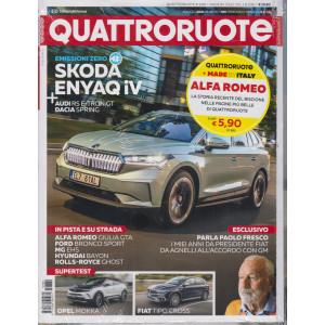 Quattroruote + Made by Italy - n. 789 -maggio  2021 - mensile - 2 riviste