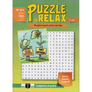 I Puzzle di Relax - n. 321 - mensile - marzo 2021