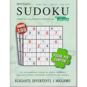 Mondo Sudoku - n. 188 - mensile - aprile  2021