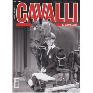 Cavalli & Cavalieri - n. 4 -aprile  2021- mensile  -italiano - inglese
