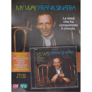 Cd Sorrisi Canzoni -n. 2-  My way - Frank Sinatra - 15/12/2020 - settimanale