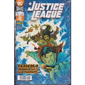 Justice League -Pericolo negli abissi del tartaro! - n. 8 - mensile - 21 gennaio 2021- 2 riviste