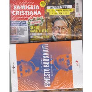 Famiglia Cristiana + il libro Eretici o profeti - n. 10 - Ernesto Buonaiuti - Tra modernismo e segni dei tempi - n. 50 - 13 dicembre 2020 - settimanale -