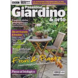 Passione Giardino & orto - n. 17 - bimestrale - settembre - ottobre 2021 -