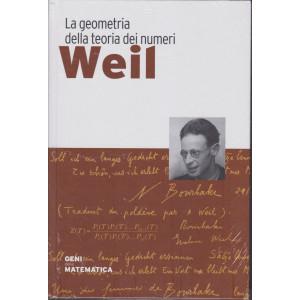 Geni della matematica - Weil- n. 46 - settimanale - 24/12/2020- copertina rigida