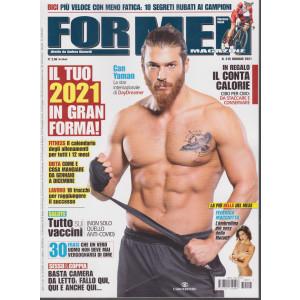 For Men Magazine - n. 215 - gennaio 2021 - mensile