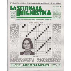 La Settimana Enigmistica - n. 4631 - 24/12/2020 - settimanale