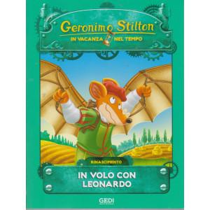 Geronimo Stilton - In vacanza nel tempo - In volo con Leonardo - n. 3 - settimanale - 21/7/2021