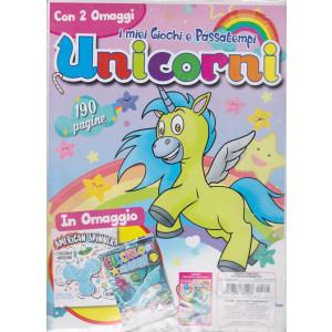 I miei giochi e passatempi Unicorni - n. 5 - Con 2 omaggi - trimestrale -marzo - aprile - maggio 2021 - 190 pagine