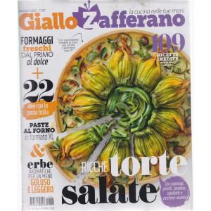 Giallo Zafferano - n. 5- maggio  2021 - mensile+ Itinerari Gourmet estate - 2 riviste