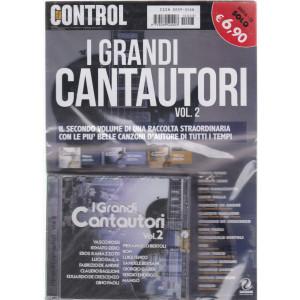 Saifam Music Control - I grandi cantautori - vol. 2 - rivista + cd -