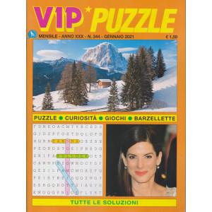 Vip Puzzle - n. 344 - gennaio 2021 - mensile