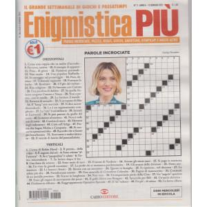 Enigmistica Piu' - n. 2  - settimanale - 12 gennaio 2021