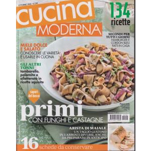 Cucina moderna - n. 10 -ottobre  2021 - mensile - 134 ricette