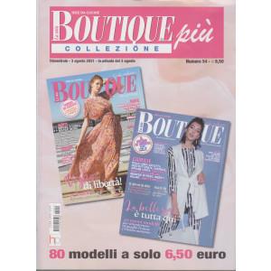 La mia boutique più collezione - n. 54 -  trimestrale - 3 agosto 2021 - 2 numeri