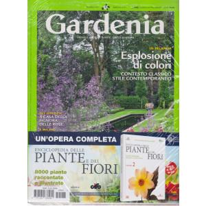 Gardenia +Enciclopedia delle piante e dei fiori  - n. 445 - mensile - maggio  2021 - 2 riviste