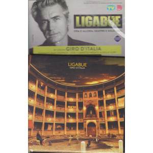 Cd Sorrisi Collezione 2 - n. 23- Ligabue  -10° cd -Giro d'Italia    1/6/2021 - settimanale - formato maxi digipack + libretto inedito -2 CD