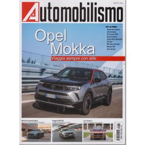 Automobilismo - n. 4 - mensile - aprile  2021