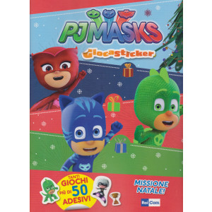 Gli Activity Book Di Rai Com -n. 3 -  Pjmasks - Giocasticker - trimestrale - 3/12/2020 - febbraio 2021