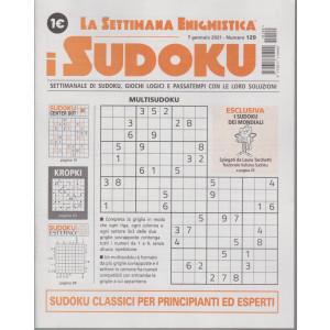 La settimana enigmistica - i sudoku - n. 129 - 7 gennaio 2021 - settimanale
