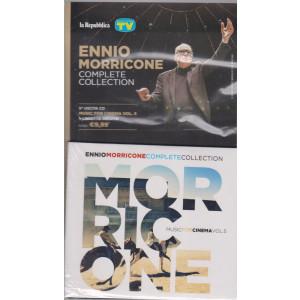 Gli speciali musicali di Sorrisi - n. 22 -30/7/2021 -Ennio Morricone - Complete collection -quinta   uscita cd Muisc for cinema vol. 5 + libretto inedito