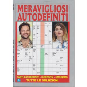 Meravigliosi  Autodefiniti - n. 57- bimestrale - luglio - agosto  2021