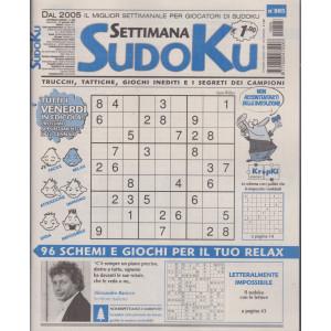 Settimana Sudoku - n. 805 - settimanale -15 gennaio 2021
