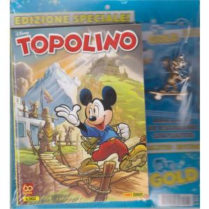 Topolino + statuetta - n. 3412 - settimanale - 14 aprile 2021