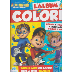 Alvinnn!!! And the chipmunks l'album dei colori n. 11 - marzo - aprile  2021- bimestrale -