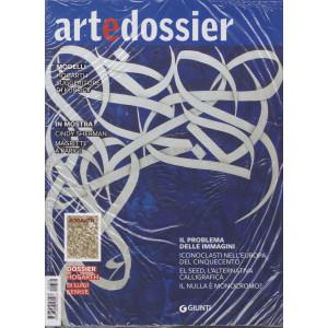 Art e dossier -n. 384 -+ Hogarth -  mensile - febbraio 2021- 2 riviste