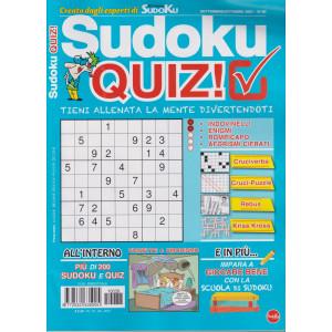 Sudoku quiz! - n. 38 - settembre - ottobre 2021 -  bimestrale