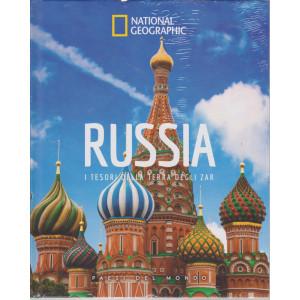 National Geographic - Russia - I tesori della terra degli Zar  -  - n. 16 - settimanale - 18/12/2020- copertina rigida