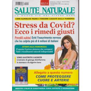 Salute Naturale + Come proteggere cuore e arterie  - n. 261- gennaio 2021- mensile - 2 riviste