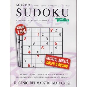 Mondo Sudoku - n. 194 - mensile -ottobre  2021 -