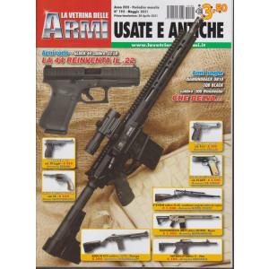 La vetrina delle armi usate e antiche - n. 192- maggio  2021 - mensile